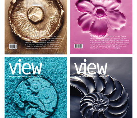 Covers Textile View Magazine