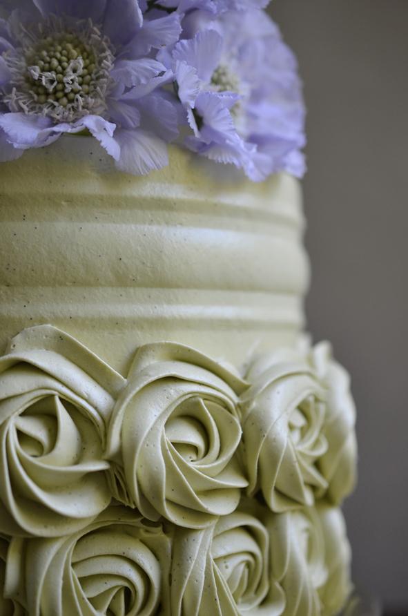 Matcha cake (detail)