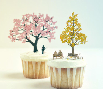 Architectural cupcakes