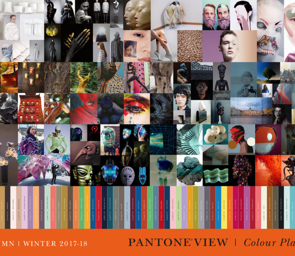 Poster PantoneView ColourPlanner A/W 2017-18